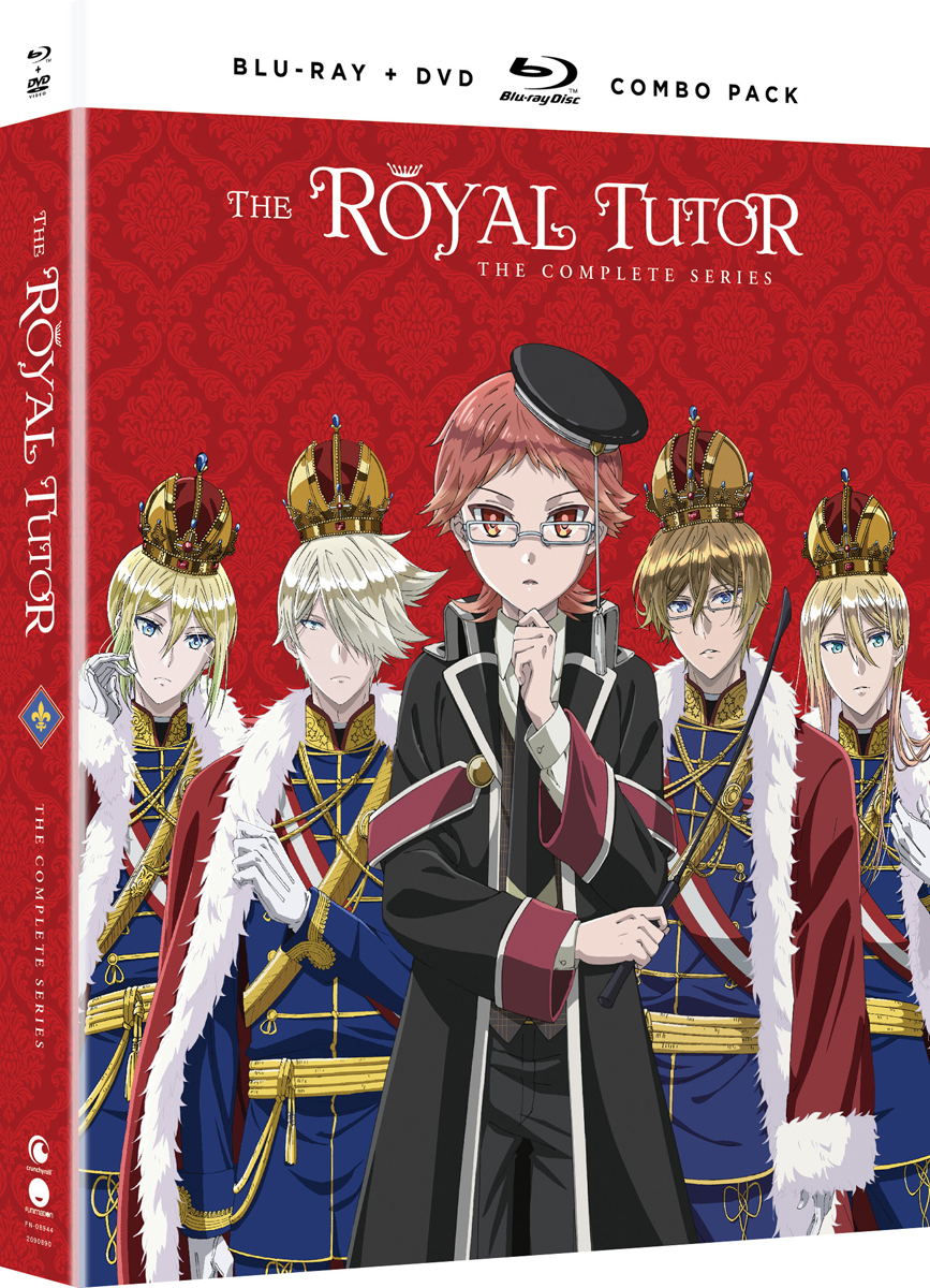 The Royal Tutor Blu-ray/DVD