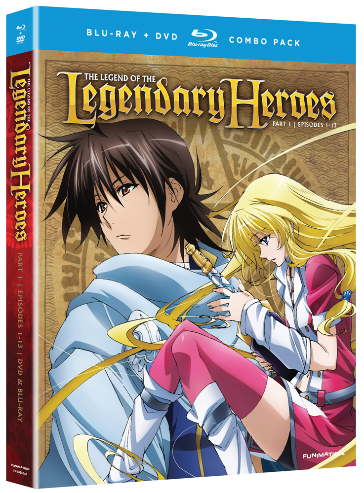 The Legend of the Legendary Heroes Part 1 Blu-ray/DVD 704400089527