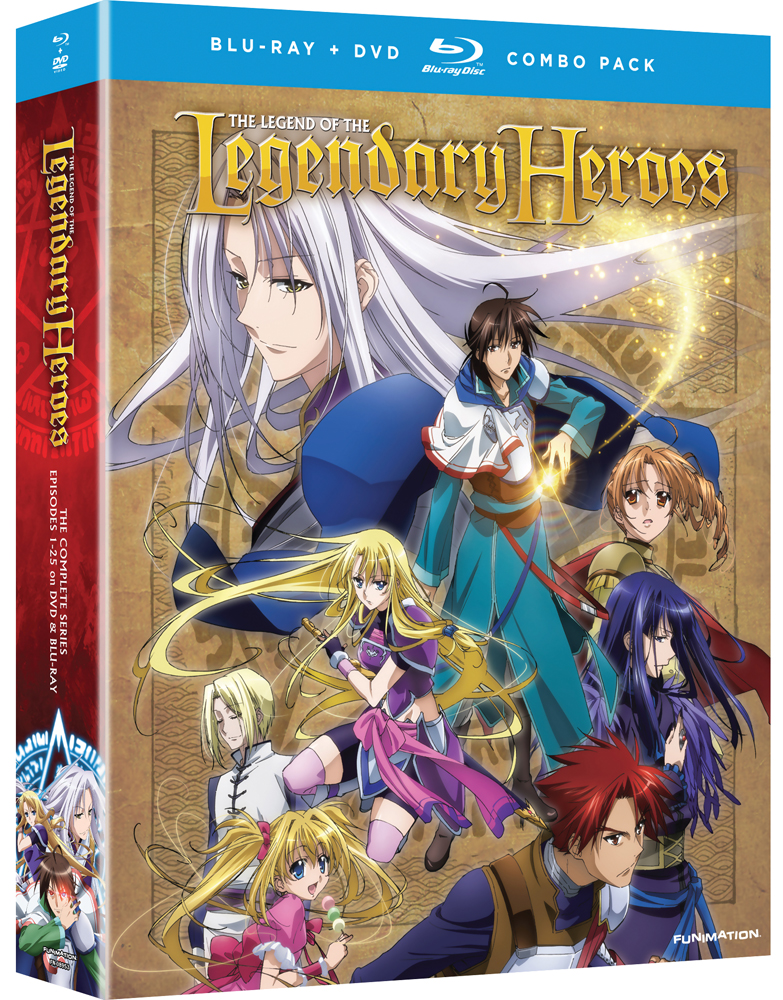 The Legend of the Legendary Heroes Complete Series Blu-ray/DVD 704400089534