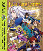 The Legend of the Legendary Heroes Blu-ray/DVD SAVE Edition