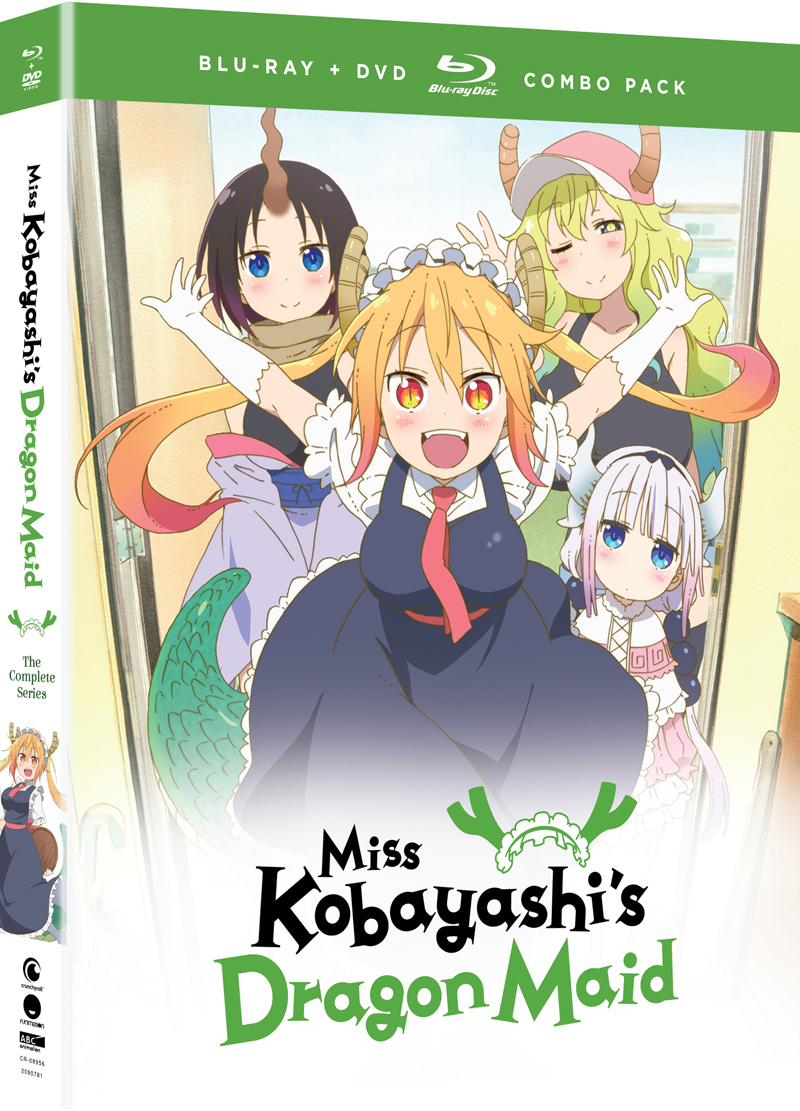 Miss Kobayashi's Dragon Maid Blu-ray/DVD 704400089565