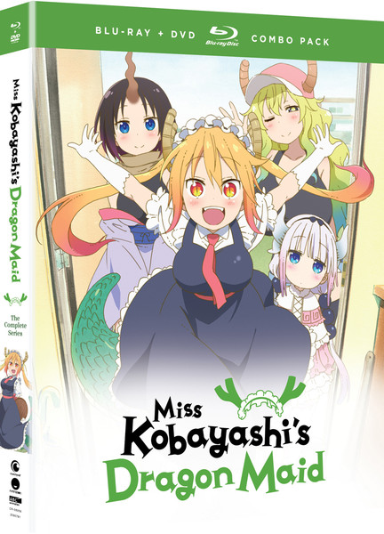 Miss Kobayashi's Dragon Maid Blu-Ray/DVD