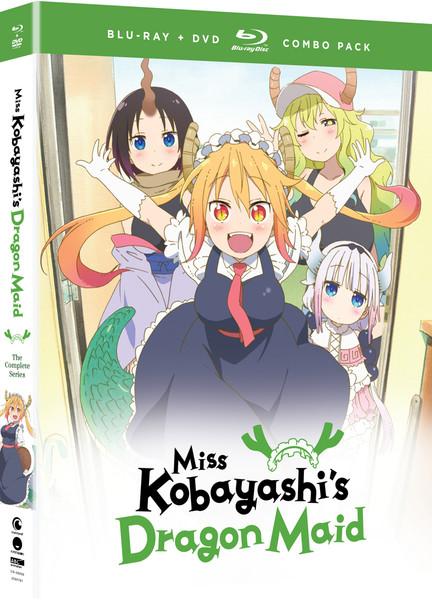 Miss Kobayashi's Dragon Maid Blu-ray/DVD