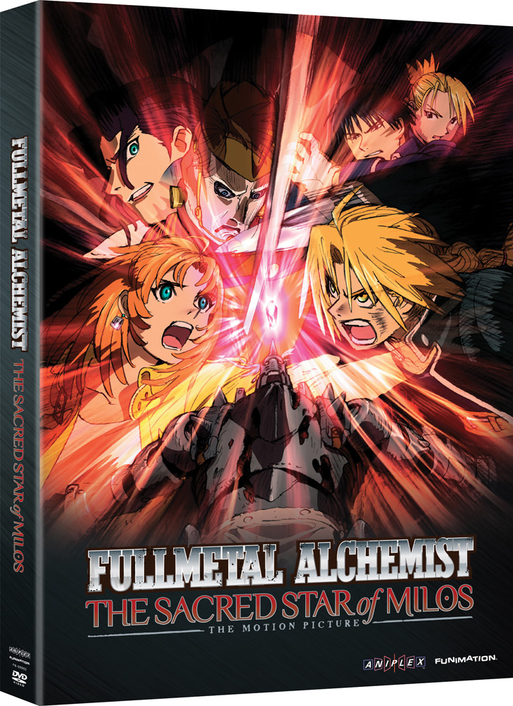 Fullmetal Alchemist: Brotherhood Movie: Sacred Star of Milos DVD 704400089626