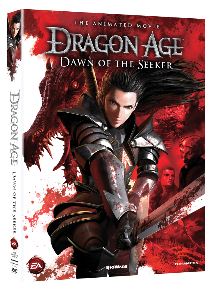 Dragon Age Dawn of the Seeker DVD 704400089800