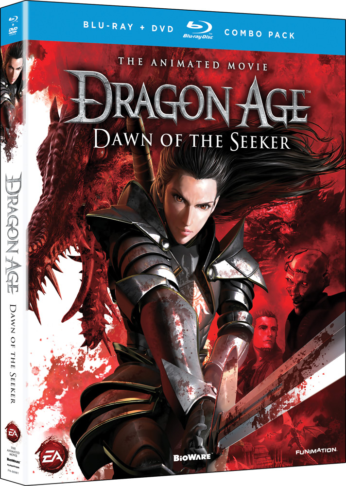 Dragon Age Dawn of the Seeker Blu-ray/DVD 704400089817
