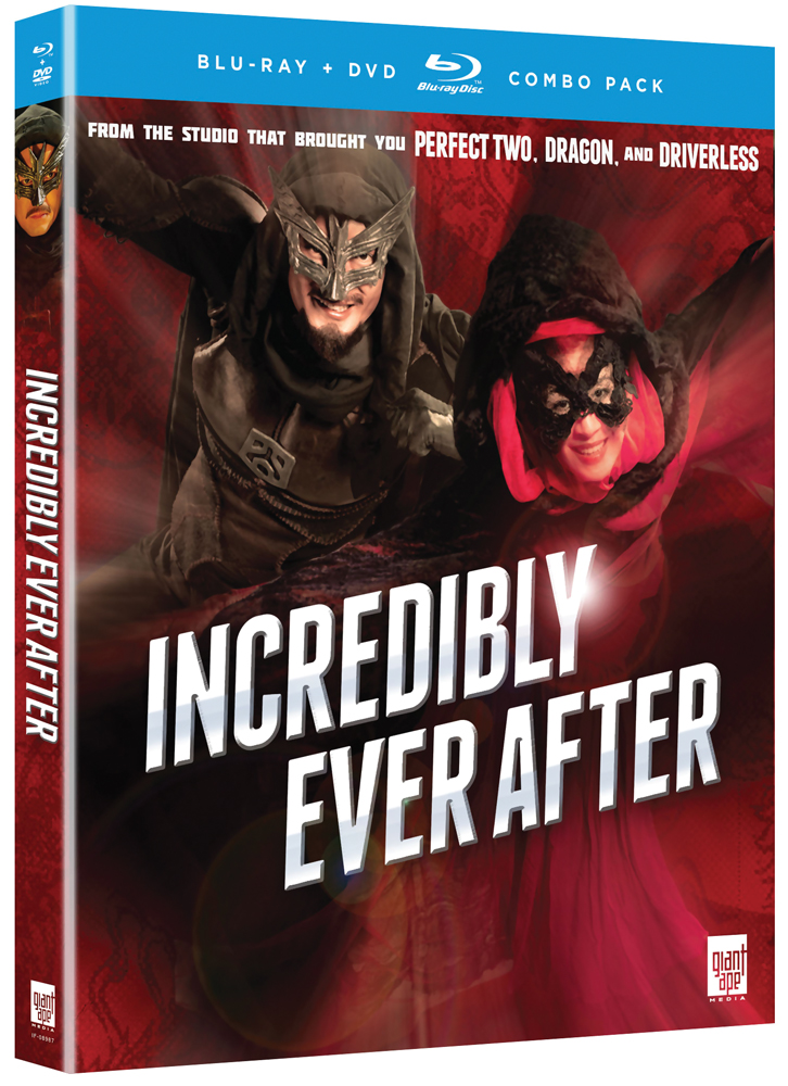 Incredibly Ever After Blu-ray/DVD 704400089879