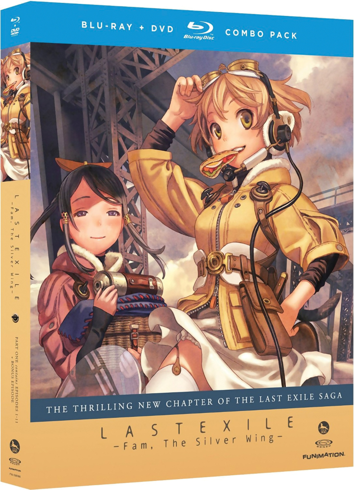 Last Exile Fam, the Silver Wing Part 1 Blu-ray/DVD 704400089985