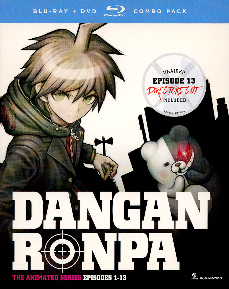 Danganronpa Blu-ray/DVD 704400090370