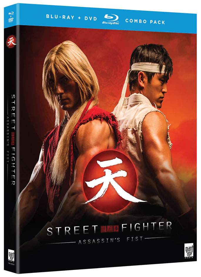 Street Fighter Assassin's Fist Blu-ray/DVD 704400090677