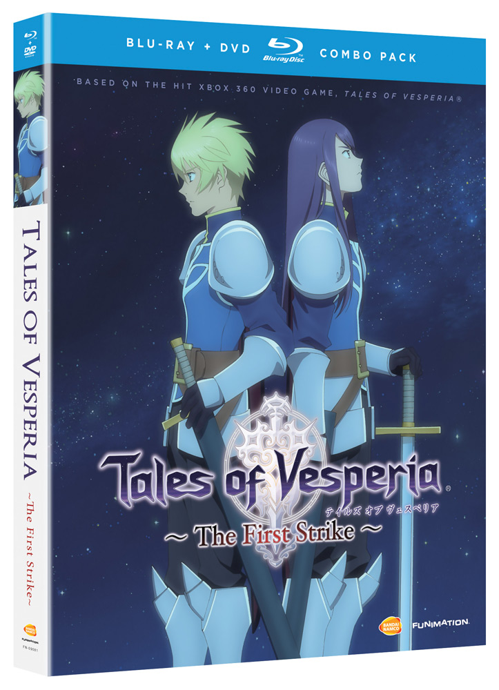 Tales of Vesperia The First Strike Blu-ray/DVD 704400090813