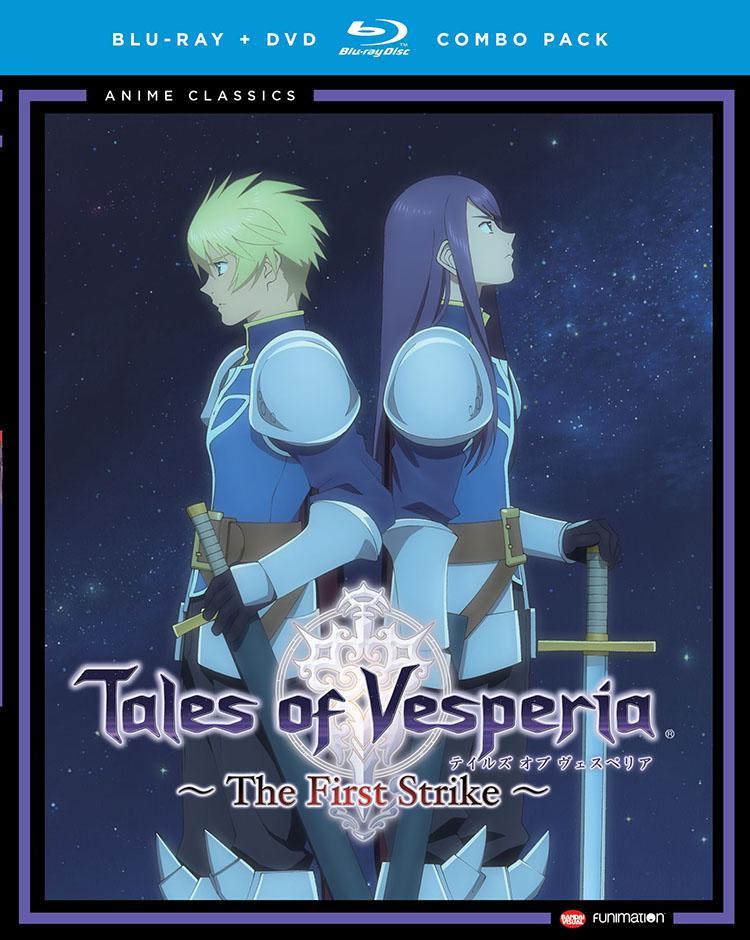 Tales of Vesperia The First Strike Blu-ray/DVD Anime Classics 704400090820