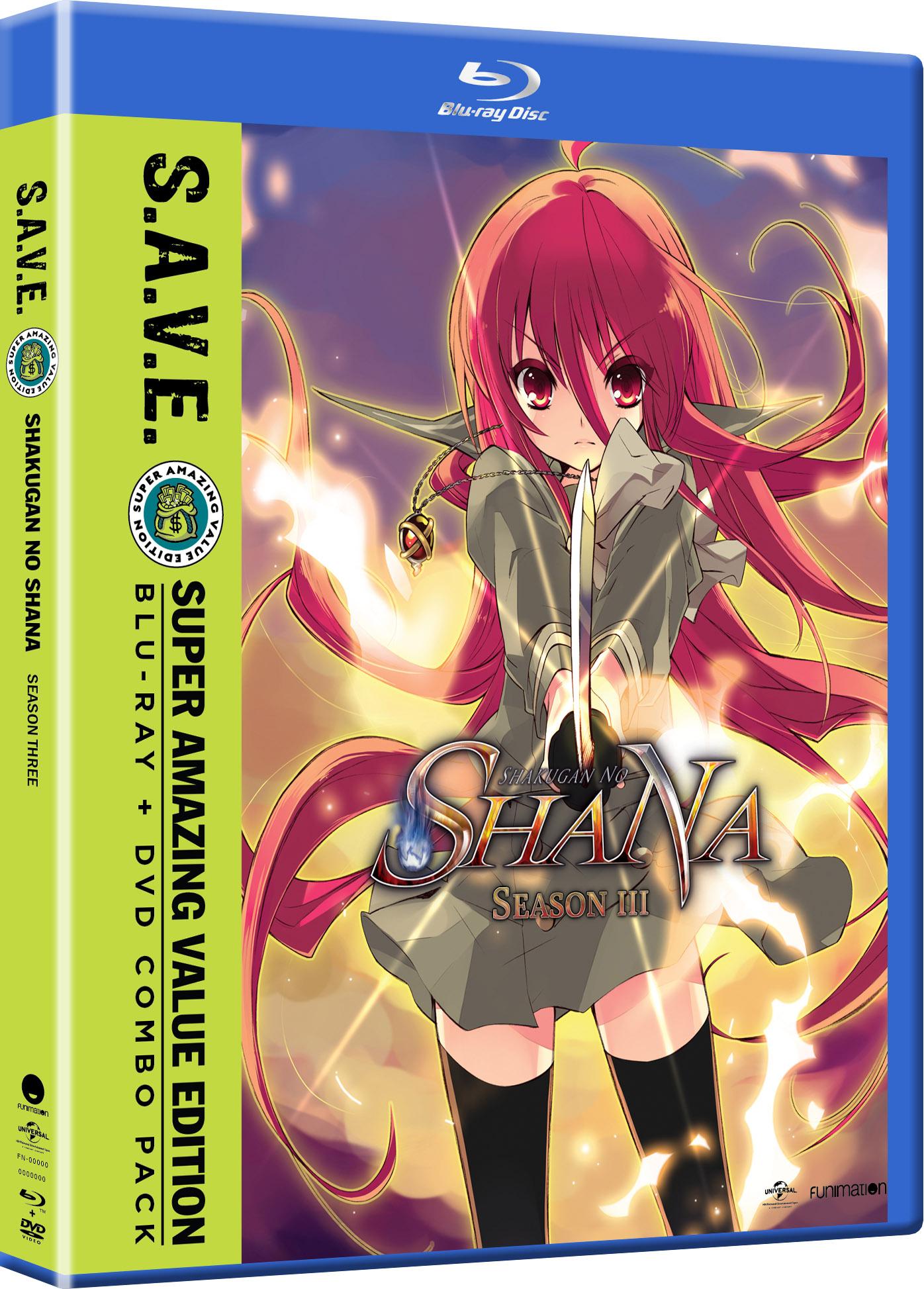 Shakugan no Shana Season 3 Blu-ray/DVD SAVE Edition