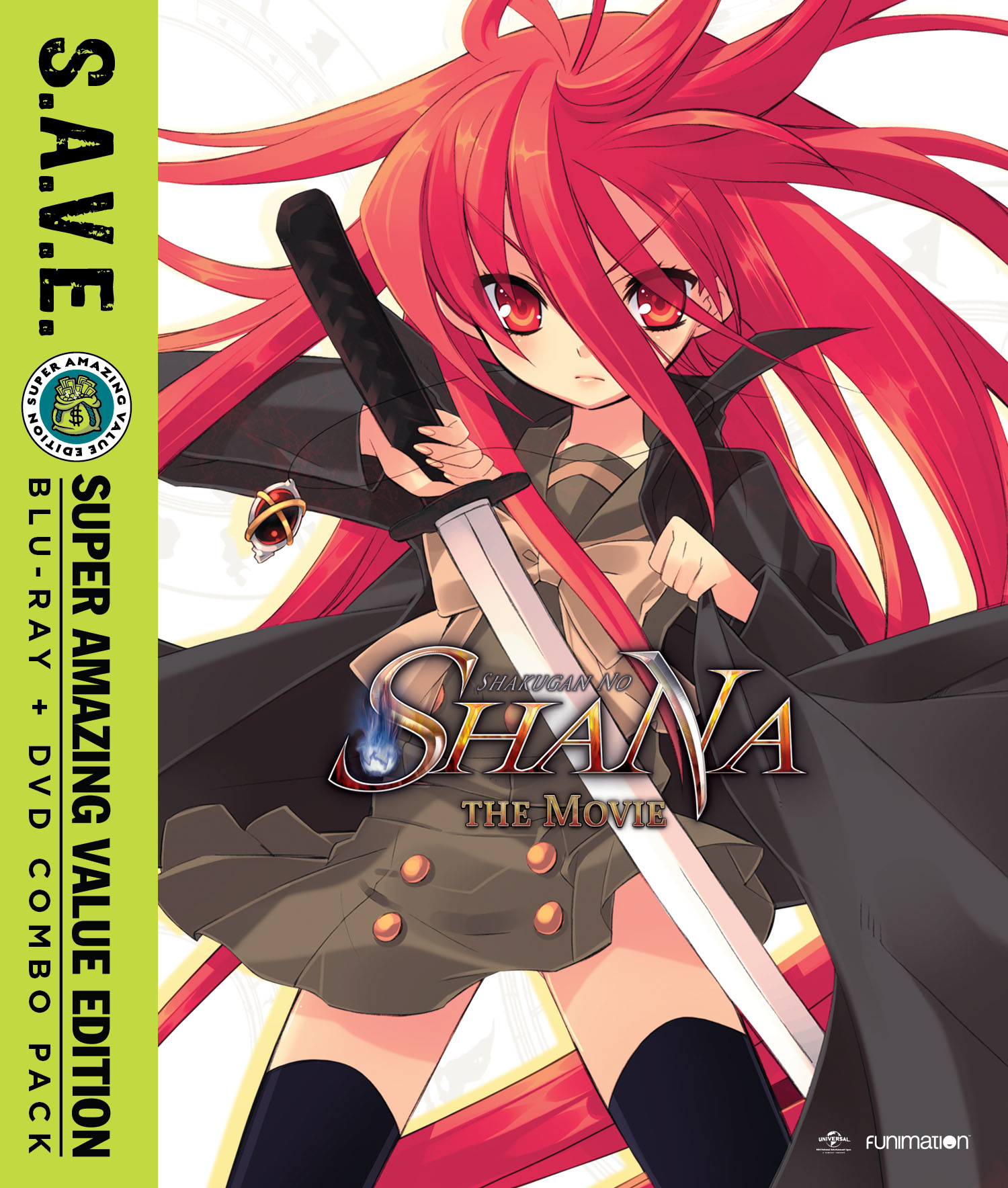 Shakugan no Shana The Movie Blu-ray/DVD SAVE Edition 704400090882
