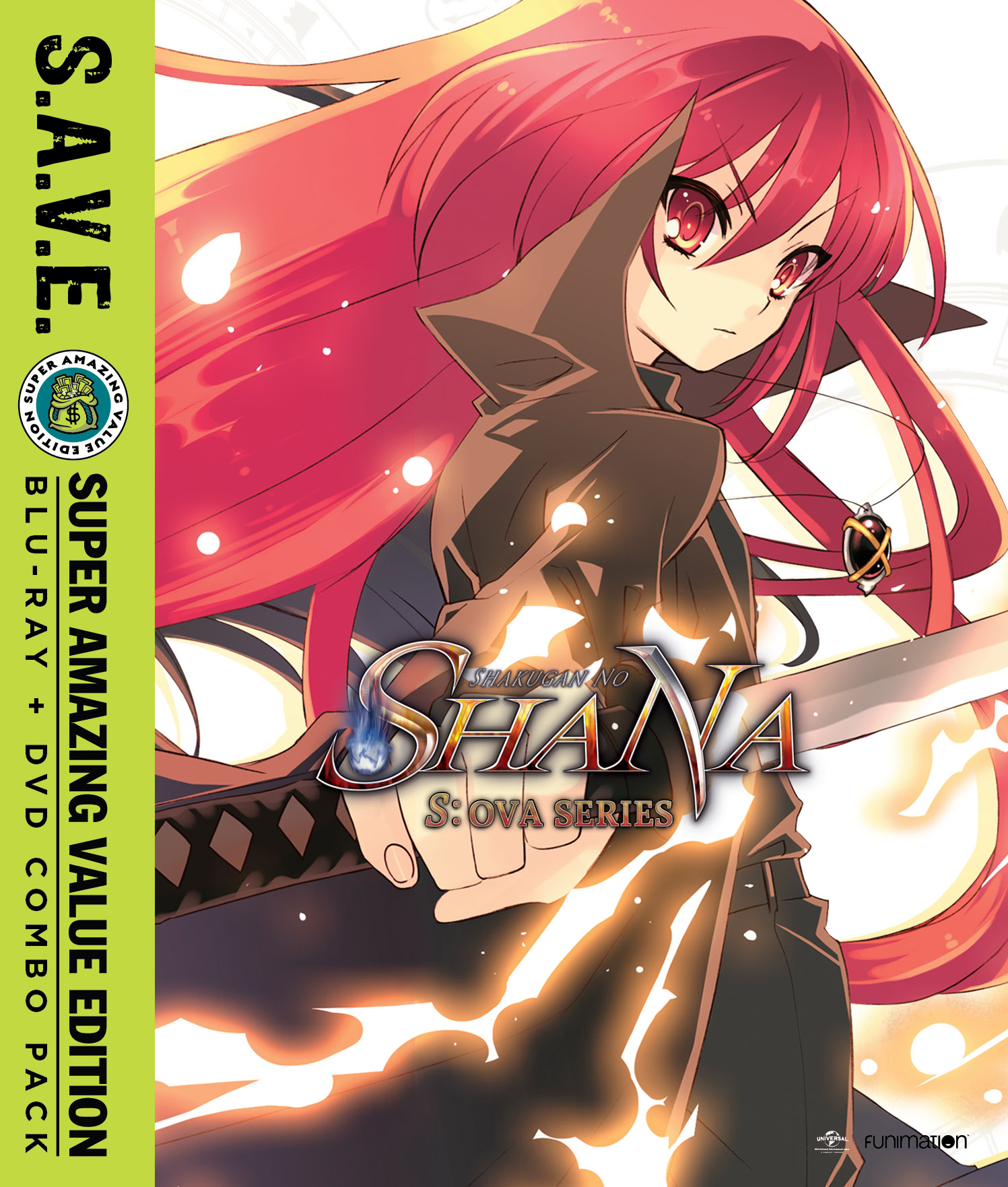 Shakugan no Shana S OVA Series Blu-ray/DVD SAVE Edition 704400090899