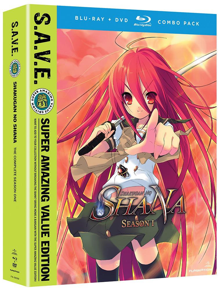 Shakugan no Shana Season 1 Blu-ray/DVD SAVE Edition
