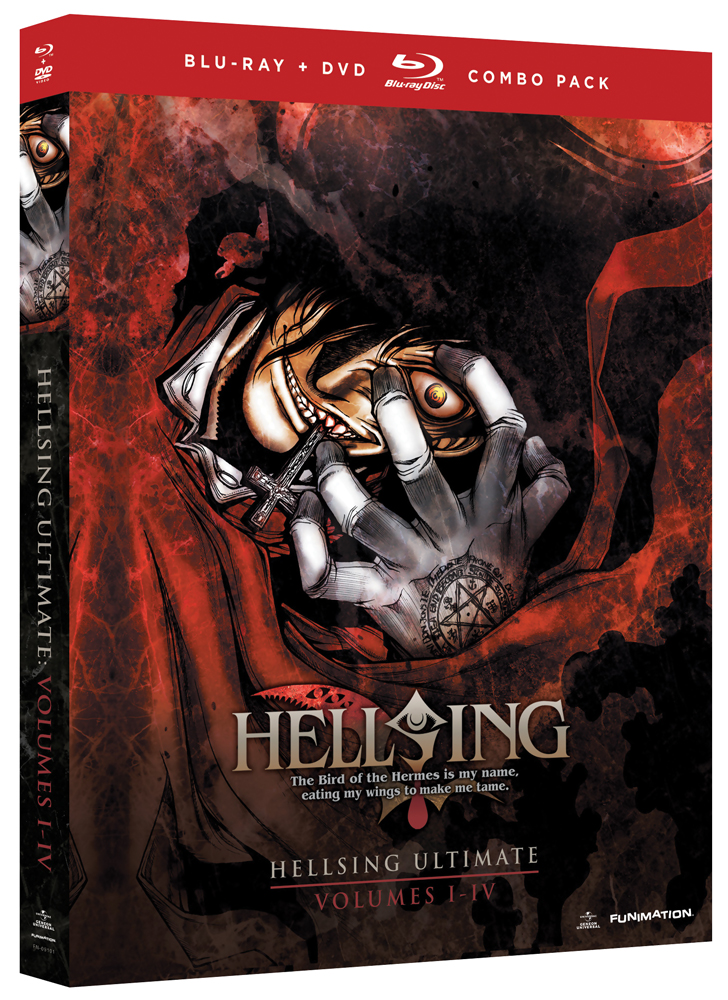 Hellsing Ultimate OVA Set 1 Blu-ray/DVD 704400091018