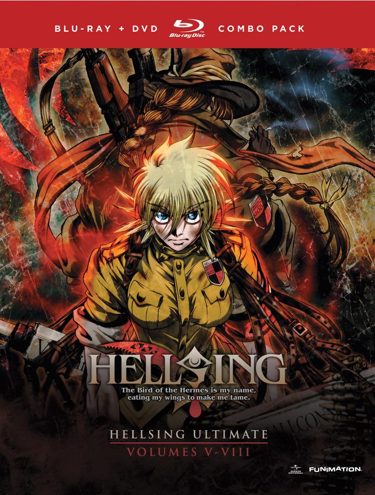 Hellsing Ultimate OVA Set 2 Blu-ray/DVD