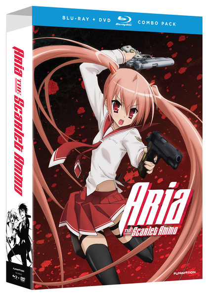 Aria the Scarlet Ammo Limited Edition Blu-ray/DVD