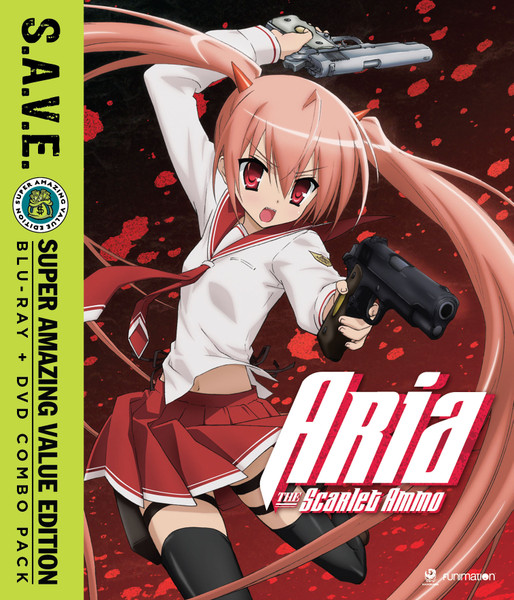 Aria the Scarlet Ammo Blu-ray/DVD SAVE Edition