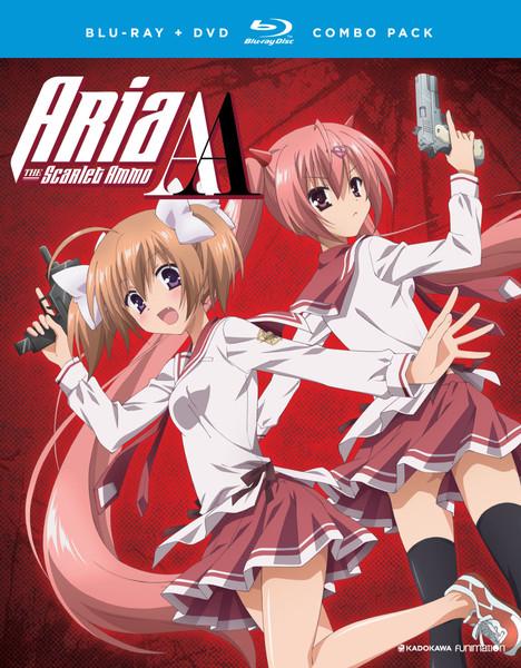 Aria the Scarlet Ammo AA Blu-ray/DVD