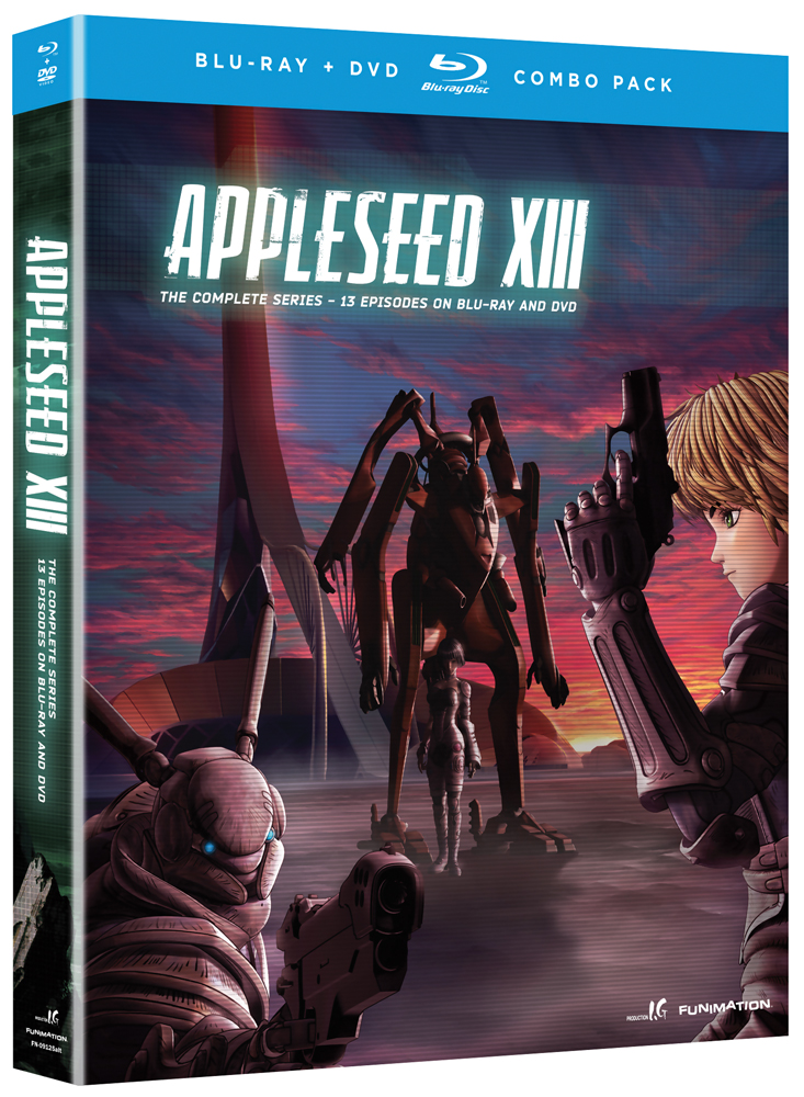 Appleseed XIII Blu-ray/DVD 704400091261