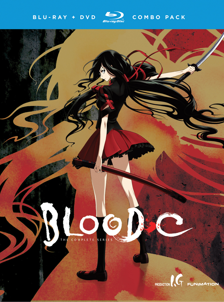 Blood-C Blu-ray/DVD 704400091315