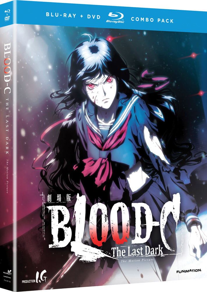 Blood-C The Last Dark Blu-ray/DVD 704400091322