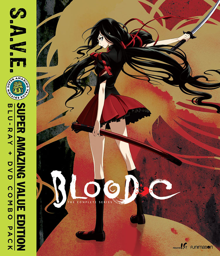 Blood-C Blu-ray/DVD SAVE Edition 704400091391
