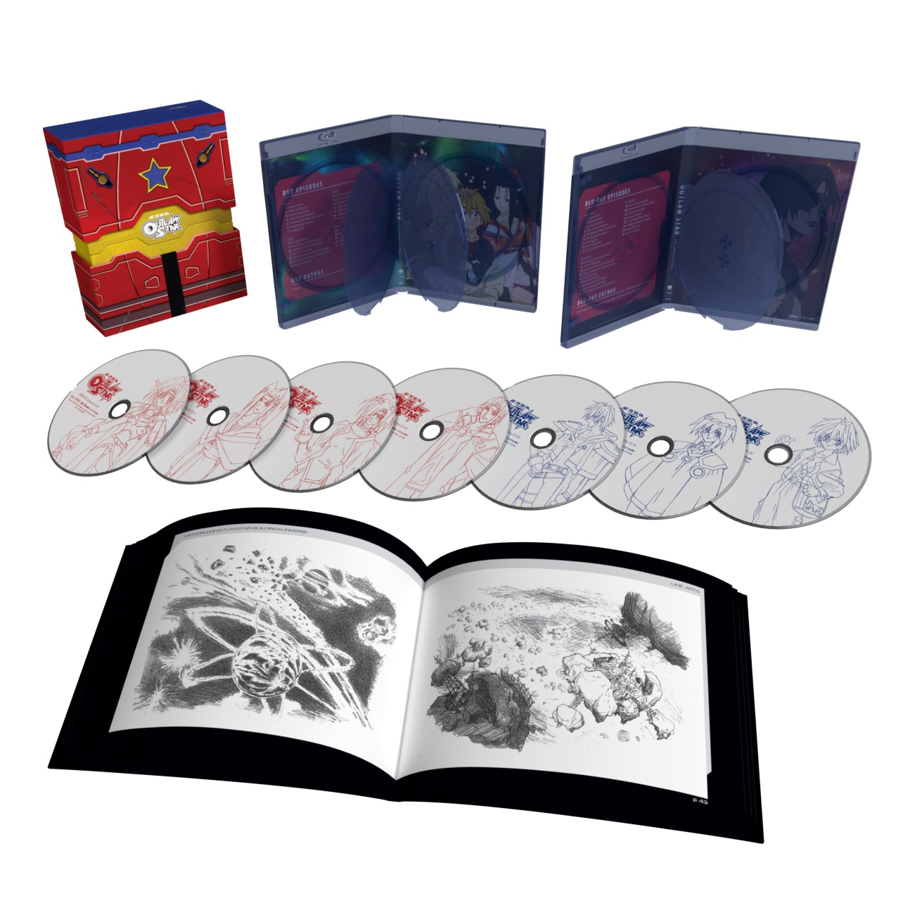 Outlaw Star Collector's Edition Blu-ray/DVD