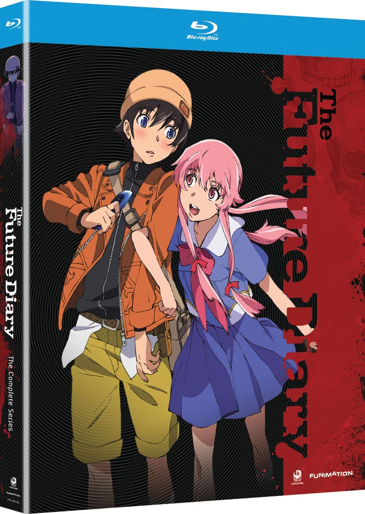 The Future Diary Complete Series Blu-ray 704400091537