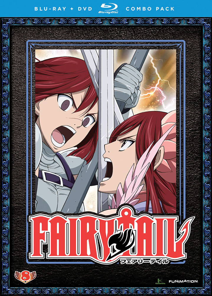 Fairy Tail Part 8 Blu-ray/DVD 704400091742