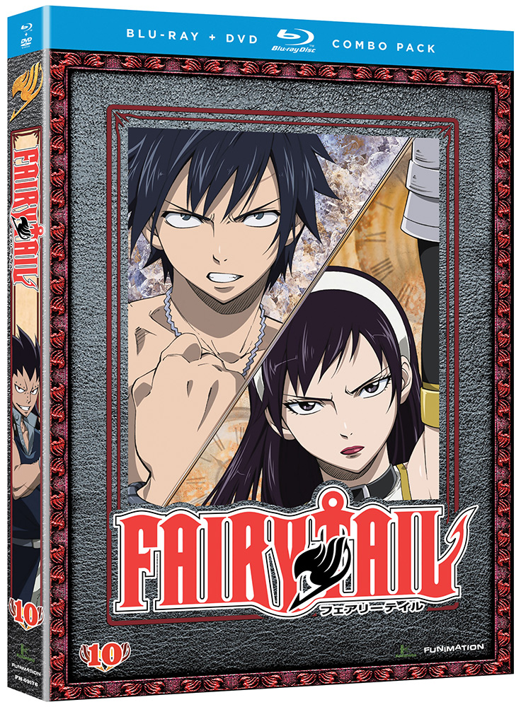 Fairy Tail Part 10 Blu-ray/DVD 704400091766