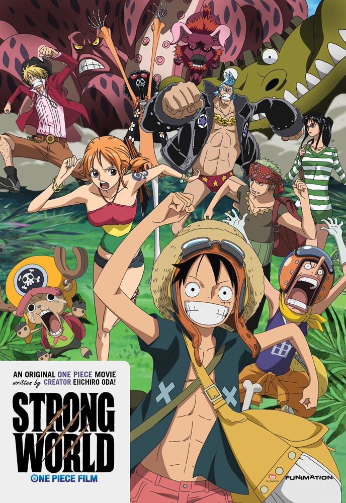 One Piece Movie 10 Strong World DVD
