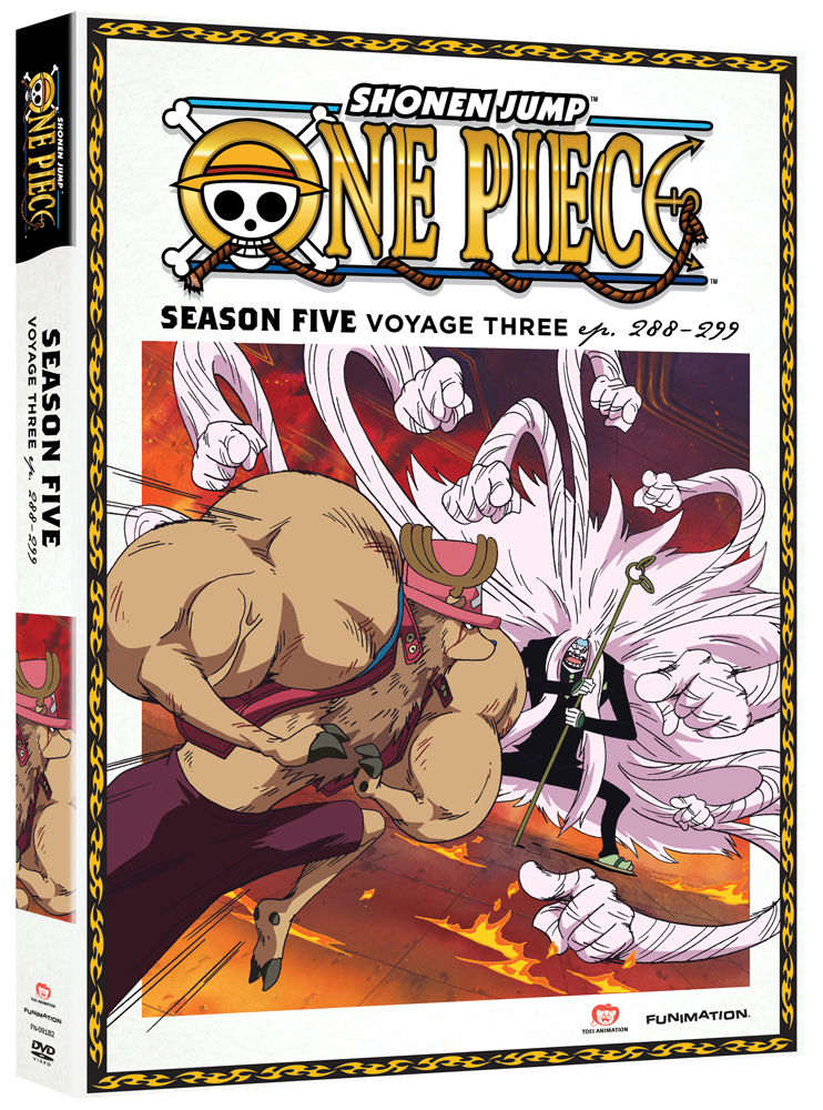 One Piece Season 5 Part 3 DVD Uncut 704400091827