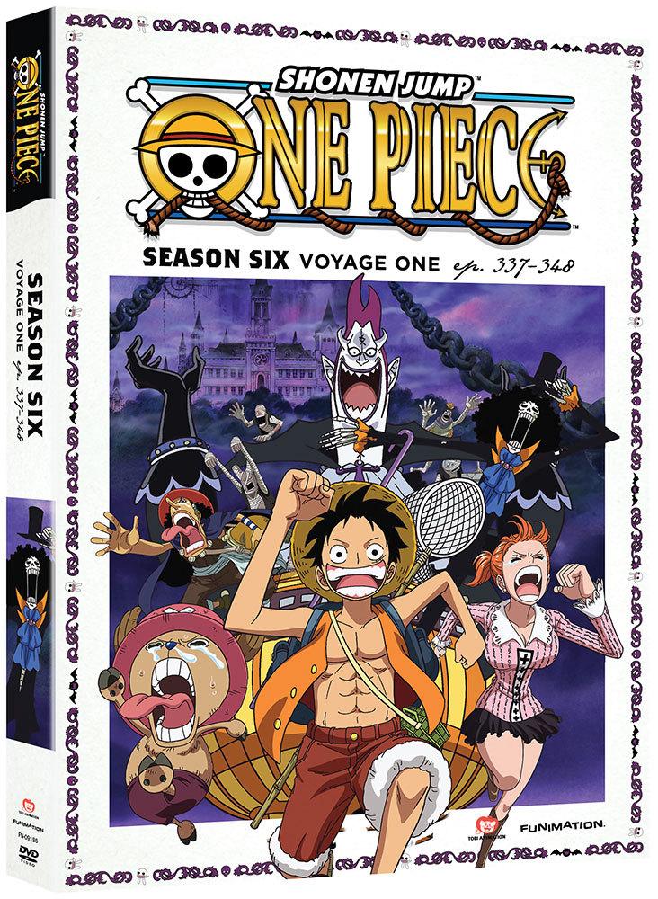 One Piece Season 6 Part 1 DVD Uncut