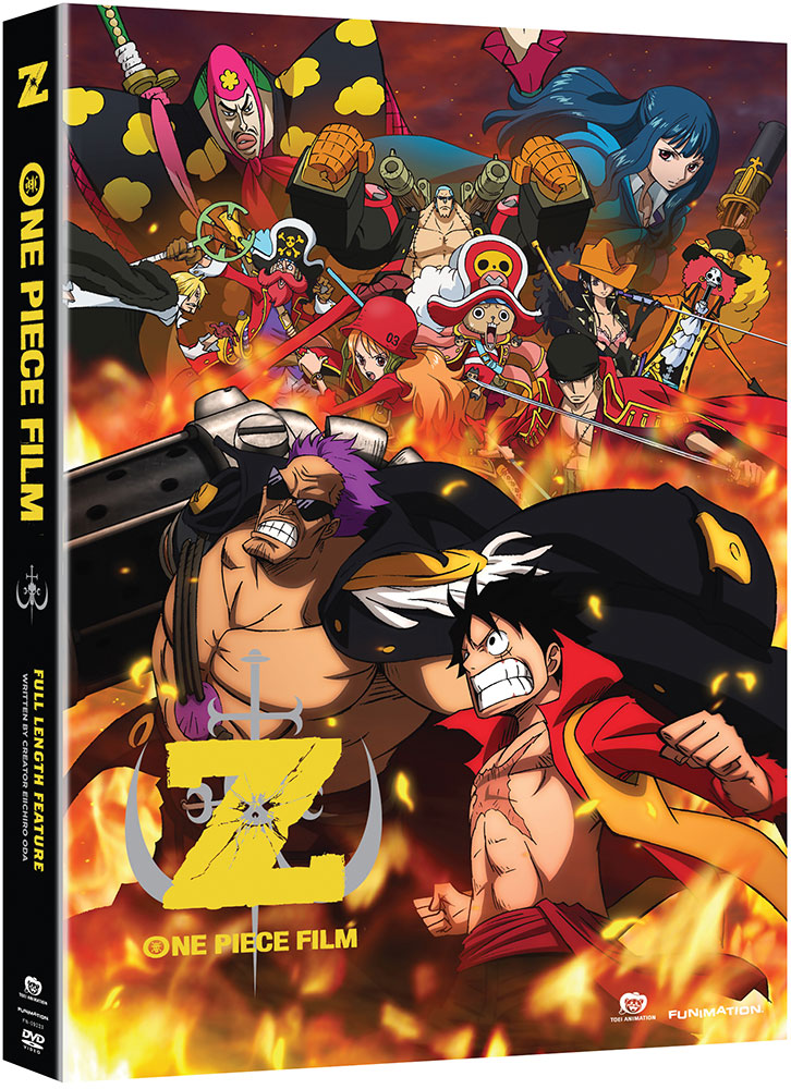 One Piece Movie 12 Film Z DVD 704400092237