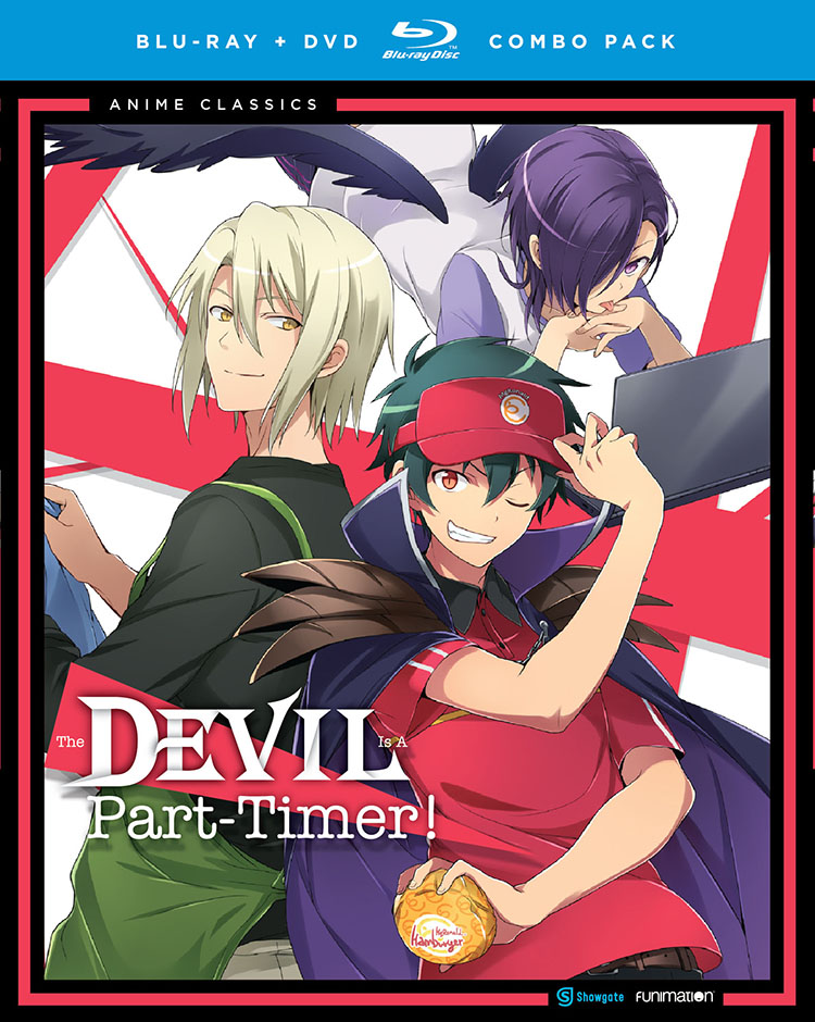 The Devil is a Part Timer Blu-ray/DVD Anime Classics 704400092374