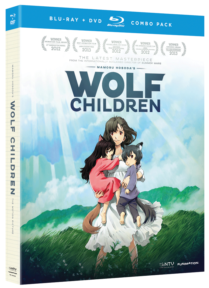 Wolf Children Blu-ray/DVD