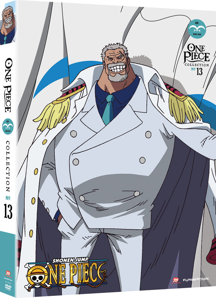 One Piece Collection 13 DVD Uncut 704400092442