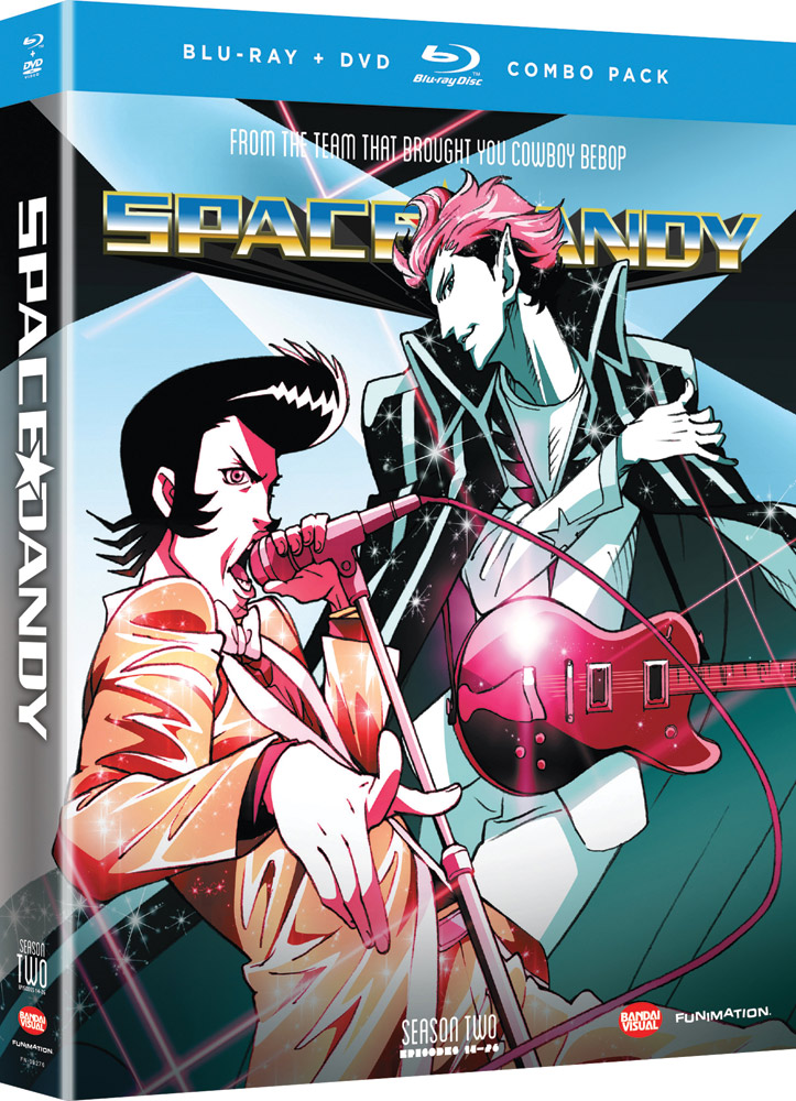 Space Dandy Season 2 Blu-ray/DVD 704400092763
