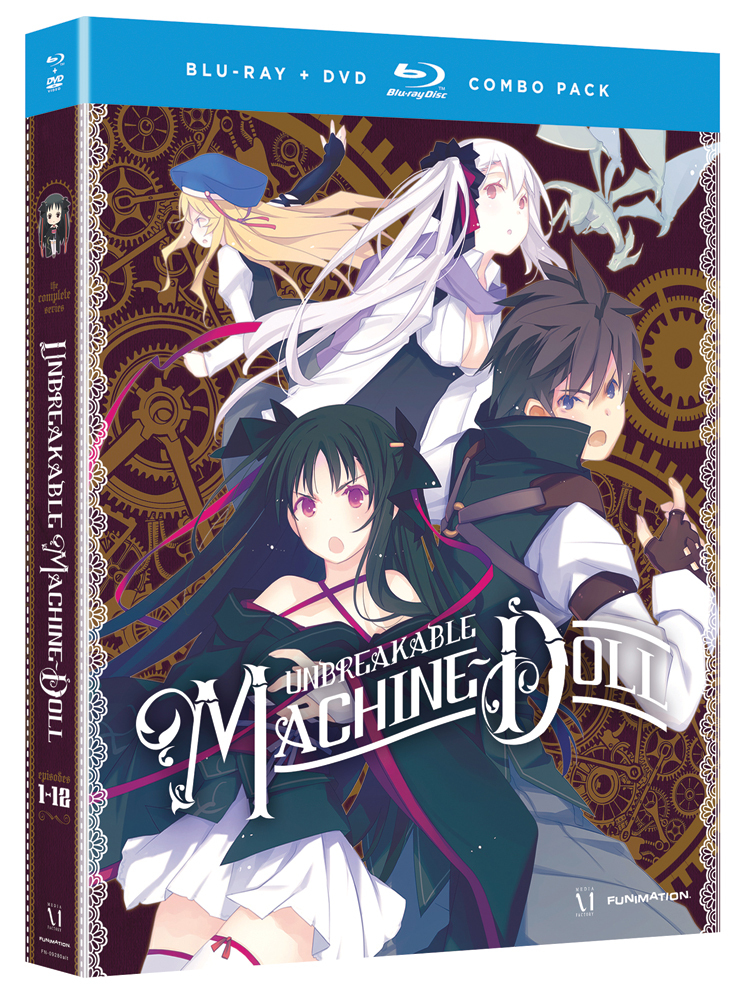 Unbreakable Machine-Doll Blu-ray/DVD 704400092817