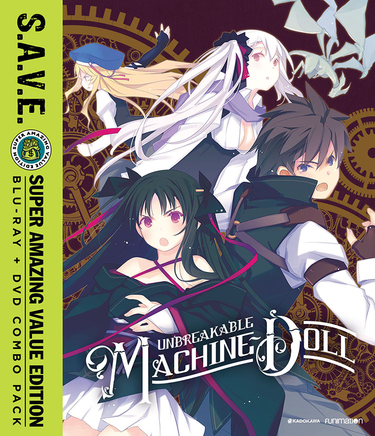 Unbreakable Machine-Doll Blu-ray/DVD SAVE Edition 704400092824
