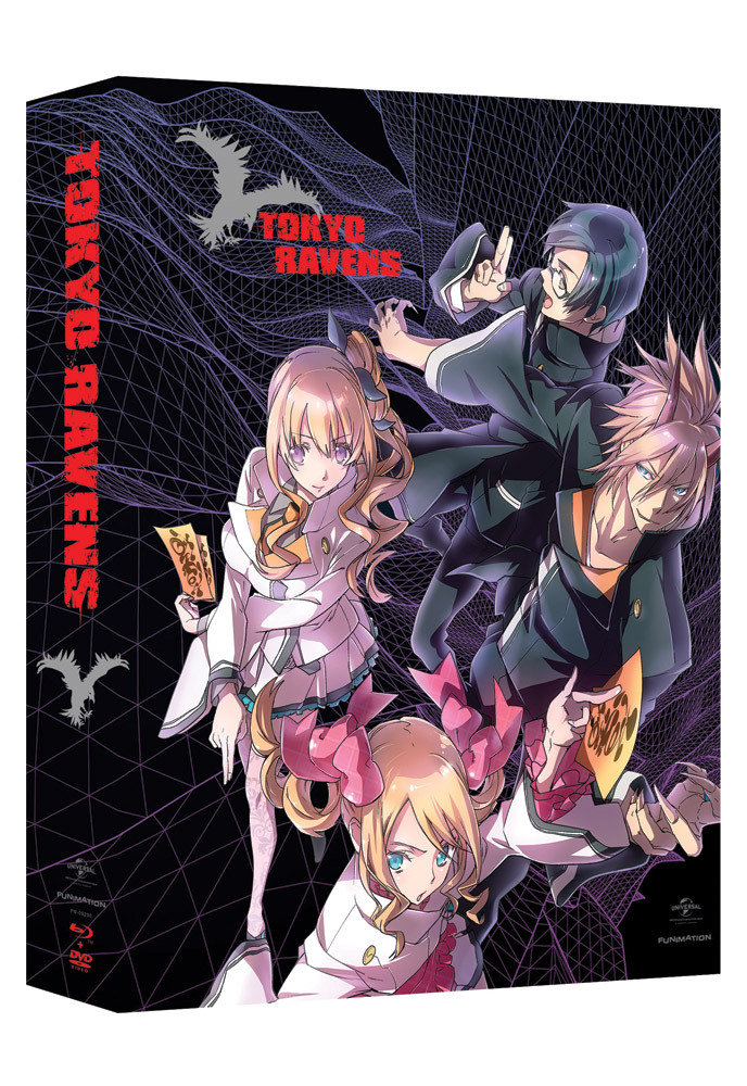 Tokyo Ravens Season 1 Part 1 Limited Edition Blu-ray/DVD 704400092909