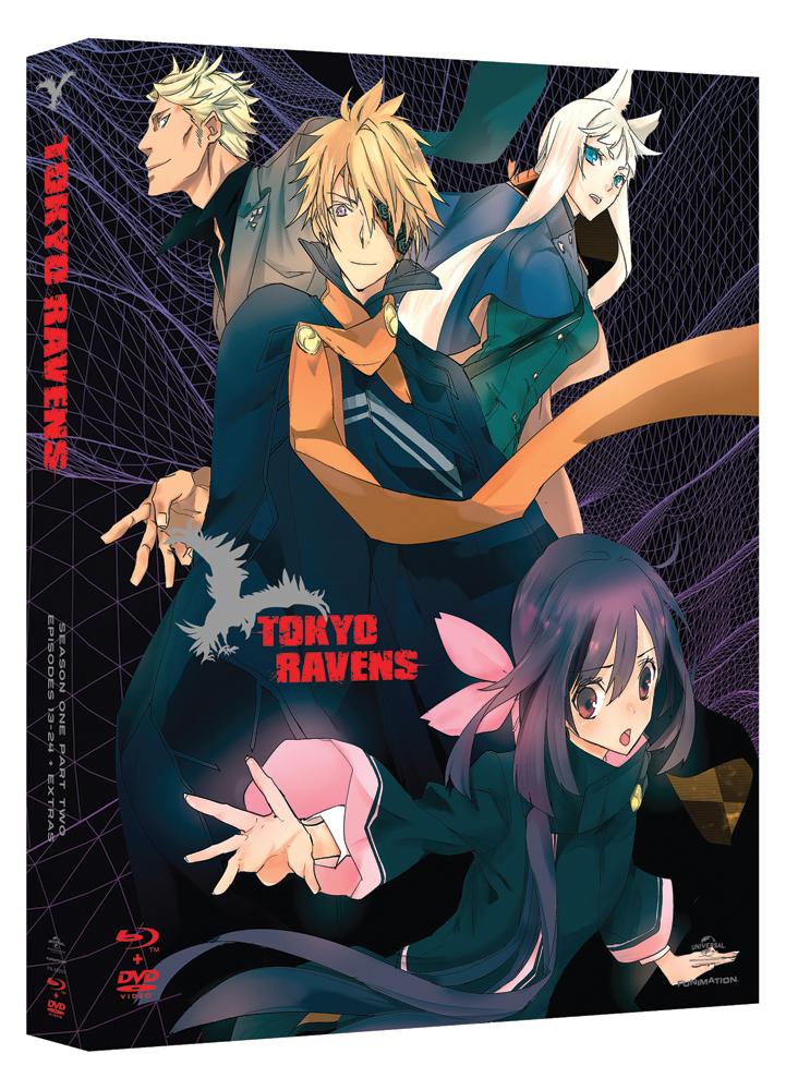 Tokyo Ravens Season 1 Part 2 Blu-ray/DVD 704400092923