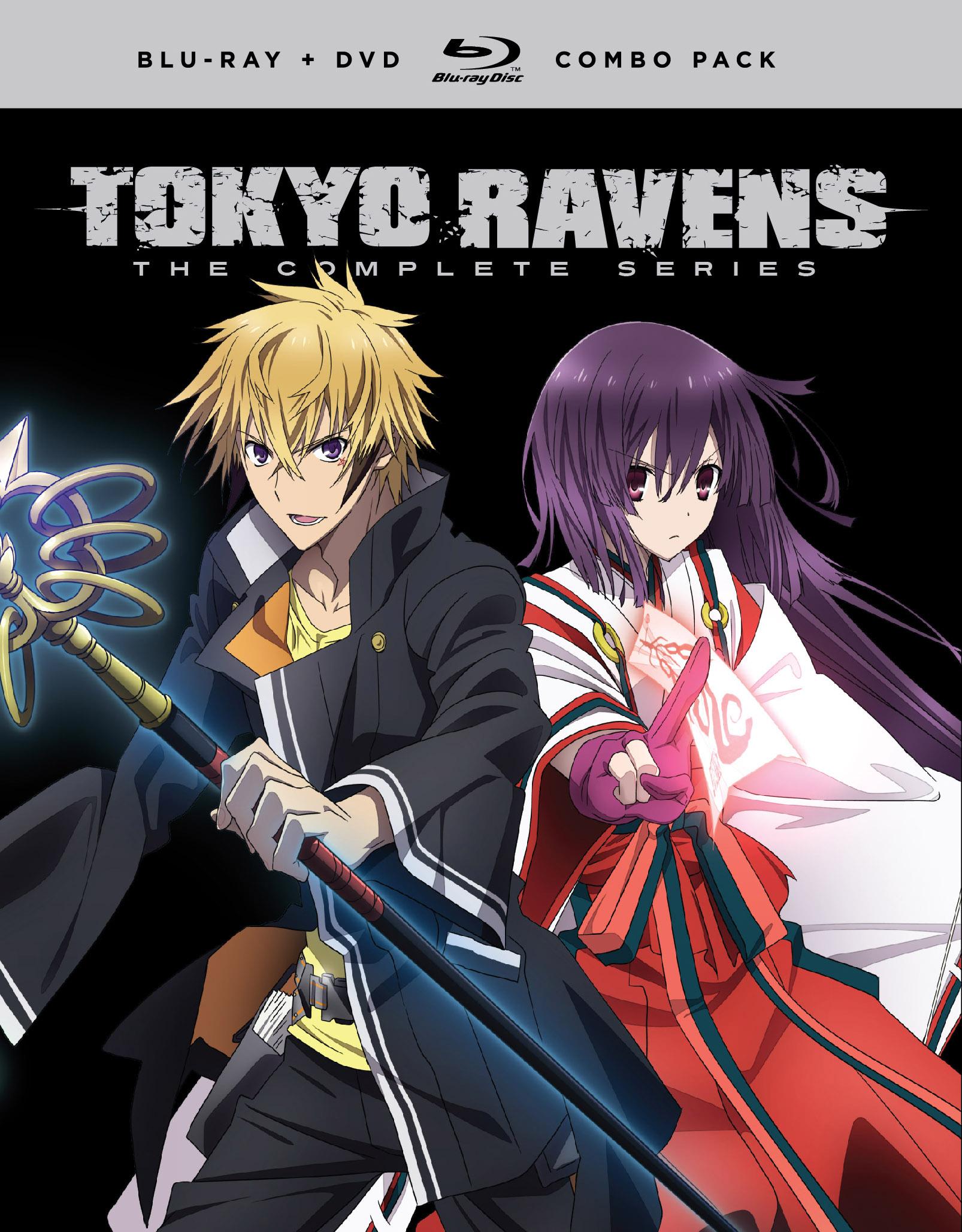 Tokyo Ravens Complete Series Blu-ray/DVD 704400092930
