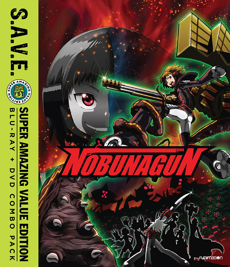 Nobunagun Blu-ray/DVD SAVE Edition 704400093029