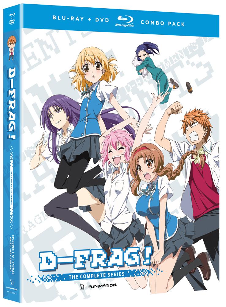 D-Frag Blu-ray/DVD 704400093210