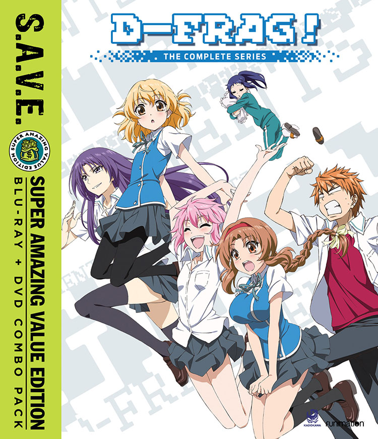 D-Frag Blu-ray/DVD SAVE Edition 704400093227