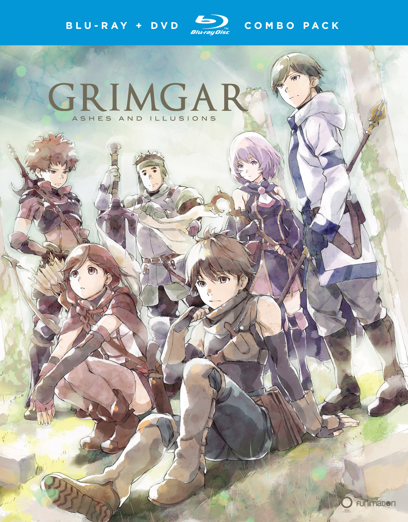 Grimgar Blu-ray/DVD 704400093265
